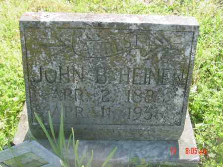 HEINEN, JOHN B - Van Buren County, Arkansas   JOHN B HEINEN - Arkansas Gravestone Photos