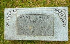 JOHNSON, ANNIE - Van Buren County, Arkansas | ANNIE JOHNSON - Arkansas Gravestone Photos