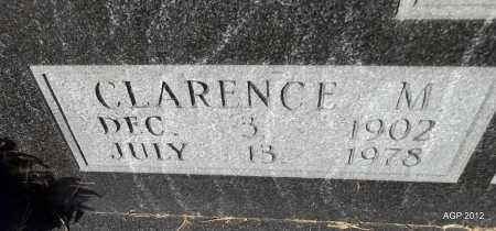 JOHNSON, CLARENCE M (CLOSE UP) - Van Buren County, Arkansas   CLARENCE M (CLOSE UP) JOHNSON - Arkansas Gravestone Photos