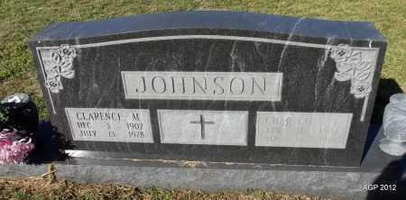 JOHNSON, CLARENCE M - Van Buren County, Arkansas | CLARENCE M JOHNSON - Arkansas Gravestone Photos