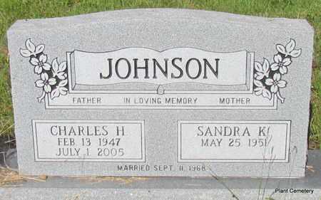 JOHNSON, CHARLES H - Van Buren County, Arkansas | CHARLES H JOHNSON - Arkansas Gravestone Photos