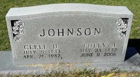 JOHNSON, POLLY A - Van Buren County, Arkansas | POLLY A JOHNSON - Arkansas Gravestone Photos