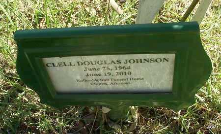 JOHNSON, CLELL DOUGLAS - Van Buren County, Arkansas | CLELL DOUGLAS JOHNSON - Arkansas Gravestone Photos