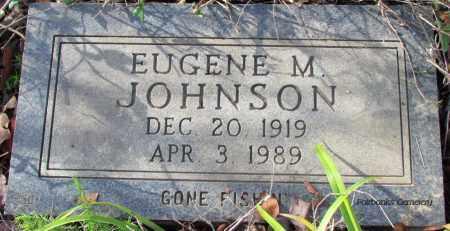 JOHNSON, EUGENE M - Van Buren County, Arkansas | EUGENE M JOHNSON - Arkansas Gravestone Photos