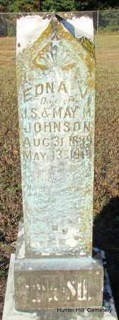 JOHNSON, EDNA V - Van Buren County, Arkansas | EDNA V JOHNSON - Arkansas Gravestone Photos