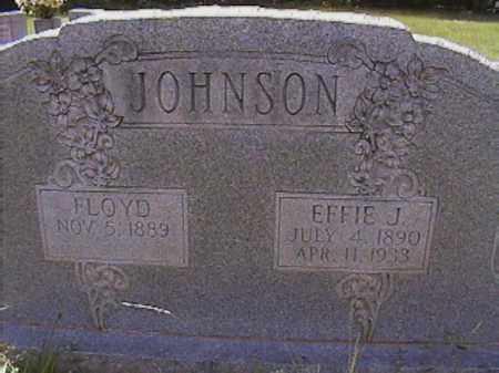 JOHNSON, FLOYD - Van Buren County, Arkansas | FLOYD JOHNSON - Arkansas Gravestone Photos