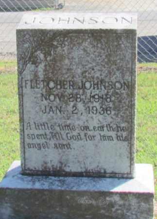 JOHNSON, FLETCHER - Van Buren County, Arkansas | FLETCHER JOHNSON - Arkansas Gravestone Photos