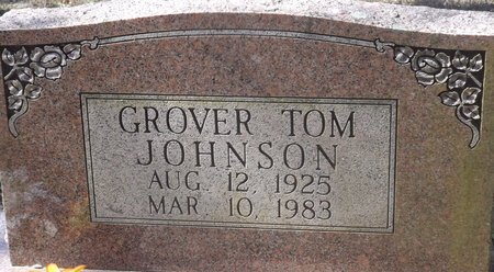 JOHNSON, GROVER TOM - Van Buren County, Arkansas | GROVER TOM JOHNSON - Arkansas Gravestone Photos