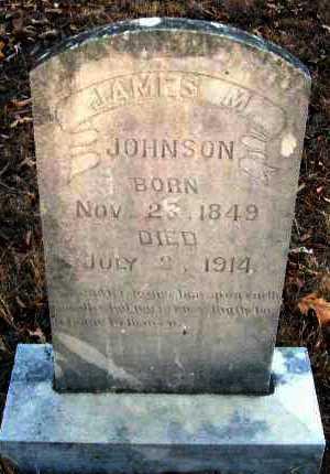 JOHNSON, JAMES M - Van Buren County, Arkansas   JAMES M JOHNSON - Arkansas Gravestone Photos