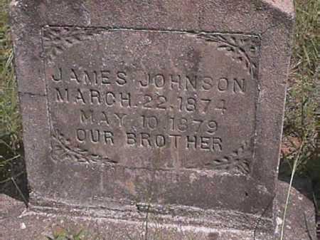 JOHNSON, JAMES - Van Buren County, Arkansas | JAMES JOHNSON - Arkansas Gravestone Photos