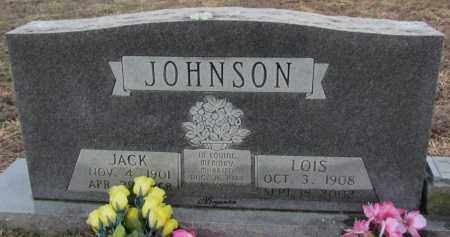 JOHNSON, JACK - Van Buren County, Arkansas | JACK JOHNSON - Arkansas Gravestone Photos