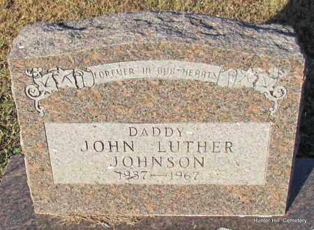JOHNSON, JOHN LUTHER - Van Buren County, Arkansas   JOHN LUTHER JOHNSON - Arkansas Gravestone Photos