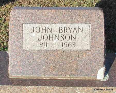 JOHNSON, JOHN BRYAN - Van Buren County, Arkansas | JOHN BRYAN JOHNSON - Arkansas Gravestone Photos