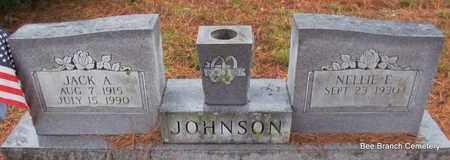 JOHNSON, JACK A - Van Buren County, Arkansas | JACK A JOHNSON - Arkansas Gravestone Photos