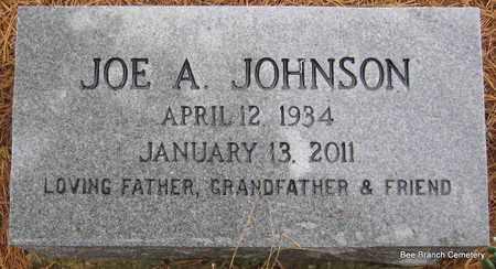 JOHNSON, JOE A - Van Buren County, Arkansas | JOE A JOHNSON - Arkansas Gravestone Photos