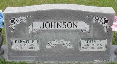 JOHNSON, KERMIT E - Van Buren County, Arkansas   KERMIT E JOHNSON - Arkansas Gravestone Photos