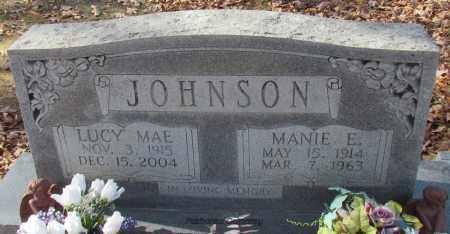 JOHNSON, LUCY MAE - Van Buren County, Arkansas | LUCY MAE JOHNSON - Arkansas Gravestone Photos