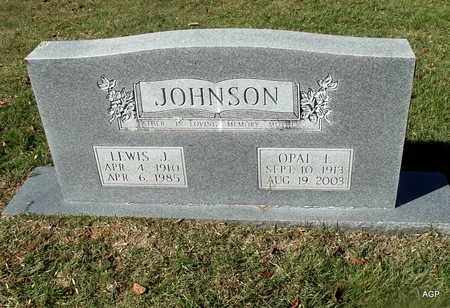 JOHNSON, OPAL L - Van Buren County, Arkansas | OPAL L JOHNSON - Arkansas Gravestone Photos