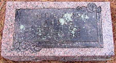JOHNSON, LUCILLE - Van Buren County, Arkansas | LUCILLE JOHNSON - Arkansas Gravestone Photos