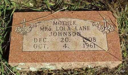 JOHNSON, LOLA - Van Buren County, Arkansas | LOLA JOHNSON - Arkansas Gravestone Photos