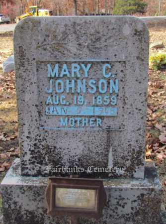 JOHNSON, MARY C - Van Buren County, Arkansas | MARY C JOHNSON - Arkansas Gravestone Photos