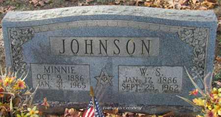 JOHNSON, MINNIE - Van Buren County, Arkansas | MINNIE JOHNSON - Arkansas Gravestone Photos