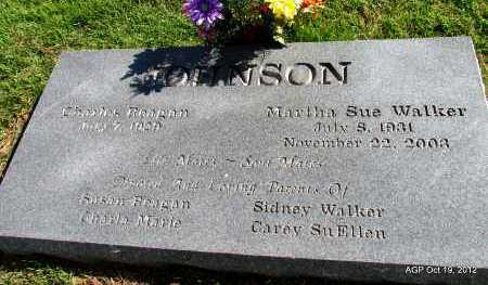 JOHNSON, MARTHA SUE - Van Buren County, Arkansas | MARTHA SUE JOHNSON - Arkansas Gravestone Photos