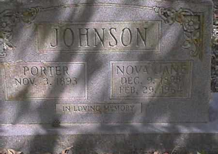JOHNSON, NOVA JANE - Van Buren County, Arkansas | NOVA JANE JOHNSON - Arkansas Gravestone Photos