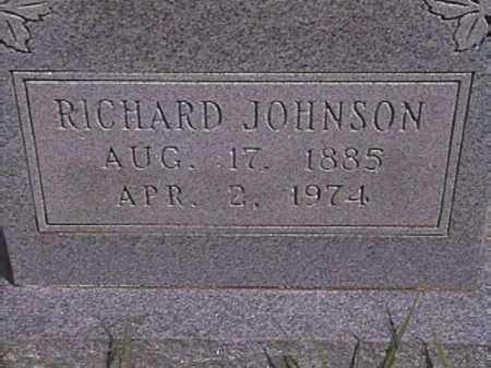 JOHNSON, RICHARD - Van Buren County, Arkansas | RICHARD JOHNSON - Arkansas Gravestone Photos