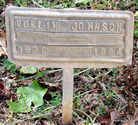 JOHNSON, VURLIN - Van Buren County, Arkansas | VURLIN JOHNSON - Arkansas Gravestone Photos