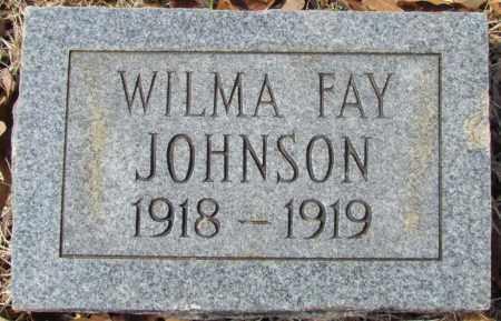 JOHNSON, WILMA FAY - Van Buren County, Arkansas | WILMA FAY JOHNSON - Arkansas Gravestone Photos