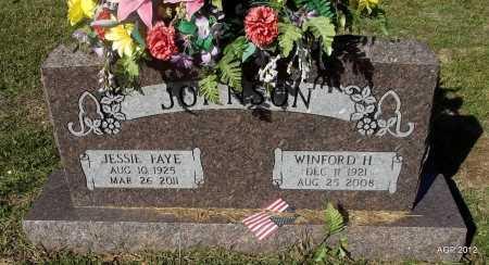 JOHNSON, WINFORD H - Van Buren County, Arkansas | WINFORD H JOHNSON - Arkansas Gravestone Photos