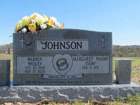 JOHNSON, WARREN WESLEY - Van Buren County, Arkansas | WARREN WESLEY JOHNSON - Arkansas Gravestone Photos