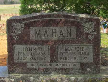MAHAN, MAUDIE - Van Buren County, Arkansas | MAUDIE MAHAN - Arkansas Gravestone Photos