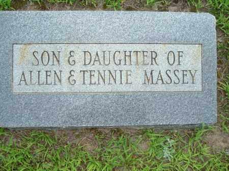 MASSEY, INFANT SON - Van Buren County, Arkansas | INFANT SON MASSEY - Arkansas Gravestone Photos