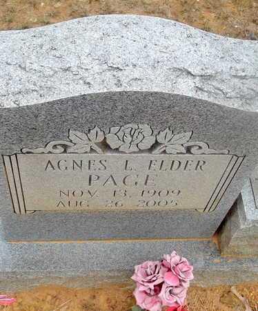 PAGE, AGNES L - Van Buren County, Arkansas | AGNES L PAGE - Arkansas Gravestone Photos