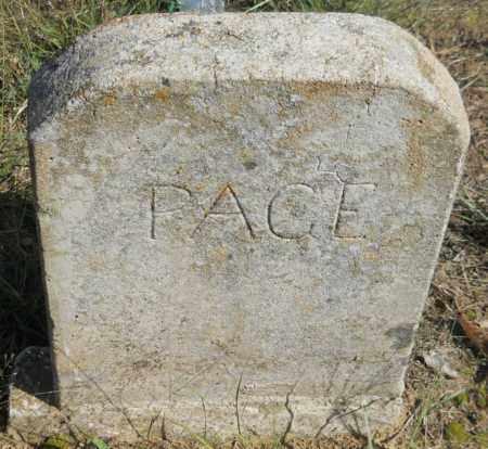 PAGE, UNKNOWN - Van Buren County, Arkansas | UNKNOWN PAGE - Arkansas Gravestone Photos