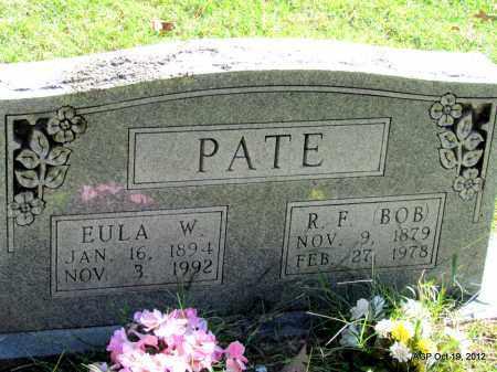 PATE, EULA W - Van Buren County, Arkansas   EULA W PATE - Arkansas Gravestone Photos