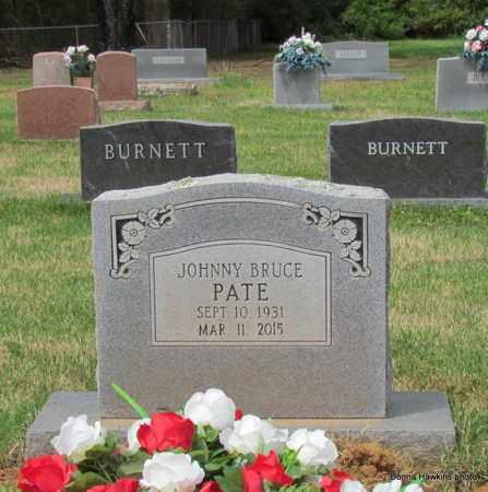 PATE, JOHNNY BRUCE - Van Buren County, Arkansas   JOHNNY BRUCE PATE - Arkansas Gravestone Photos