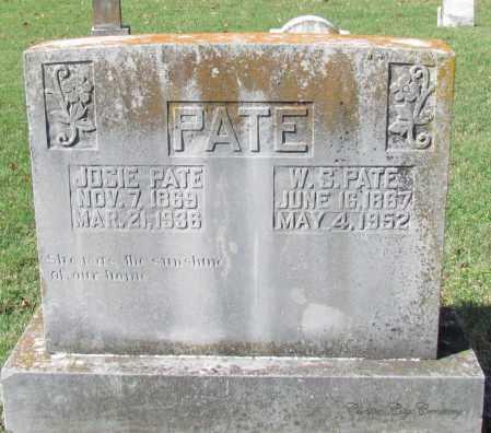 PATE, JOSE - Van Buren County, Arkansas   JOSE PATE - Arkansas Gravestone Photos