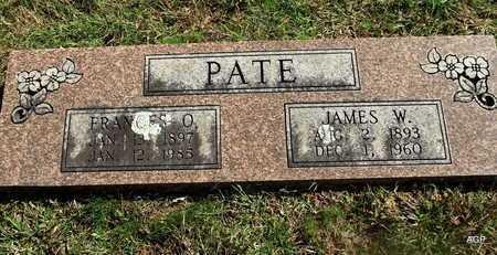 PATE, FRANCES O - Van Buren County, Arkansas | FRANCES O PATE - Arkansas Gravestone Photos