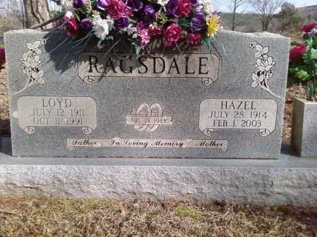 RAGSDALE, HAZEL - Van Buren County, Arkansas | HAZEL RAGSDALE - Arkansas Gravestone Photos