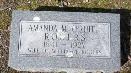 ROGERS, AMANDA M - Van Buren County, Arkansas | AMANDA M ROGERS - Arkansas Gravestone Photos