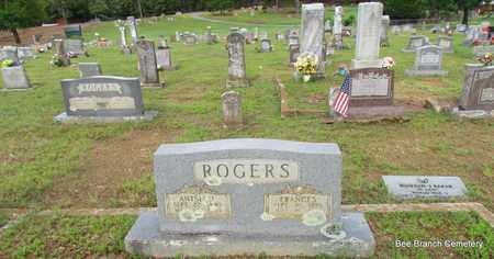 ROGERS, FRANCES (OVERVIEW) - Van Buren County, Arkansas | FRANCES (OVERVIEW) ROGERS - Arkansas Gravestone Photos