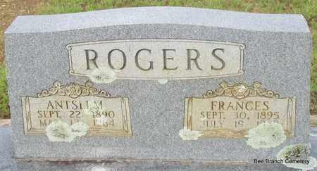 ROGERS, ANTSLEM (CLOSE UP) - Van Buren County, Arkansas | ANTSLEM (CLOSE UP) ROGERS - Arkansas Gravestone Photos