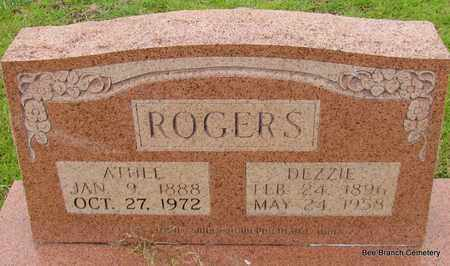 ROGERS, DEZZIE - Van Buren County, Arkansas | DEZZIE ROGERS - Arkansas Gravestone Photos