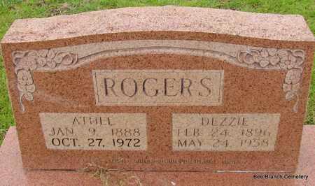 ROGERS, ATHEL - Van Buren County, Arkansas | ATHEL ROGERS - Arkansas Gravestone Photos