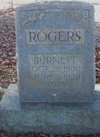 ROGERS, BURNETT - Van Buren County, Arkansas | BURNETT ROGERS - Arkansas Gravestone Photos
