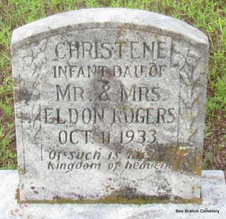 ROGERS, CHRISTENE - Van Buren County, Arkansas | CHRISTENE ROGERS - Arkansas Gravestone Photos
