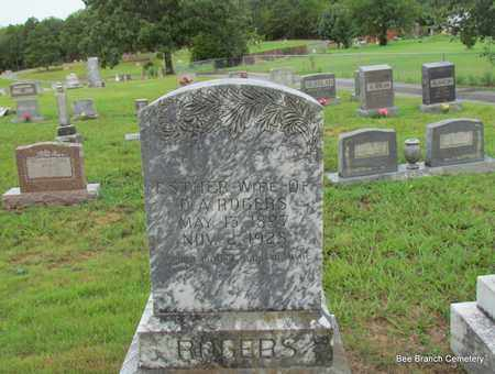 ROGERS, ESTHER (OVERVIEW) - Van Buren County, Arkansas | ESTHER (OVERVIEW) ROGERS - Arkansas Gravestone Photos